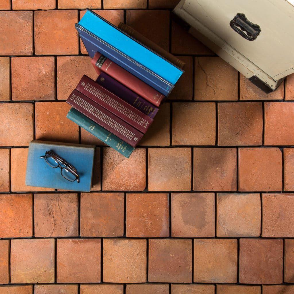 reclaimed terracotta tiles