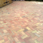 Reclaimed Brick Floor