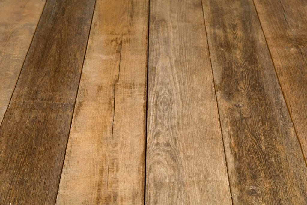 rustic oak floorboards