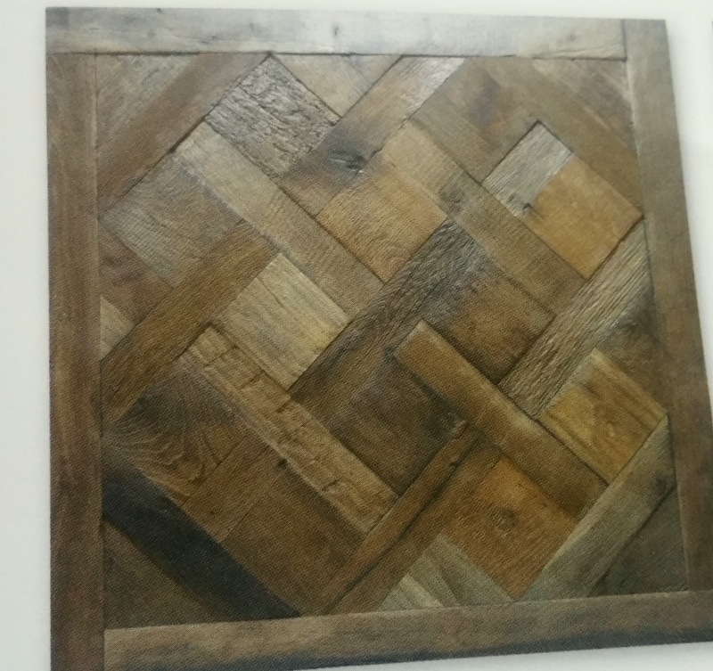 reclaimed Versailles panel