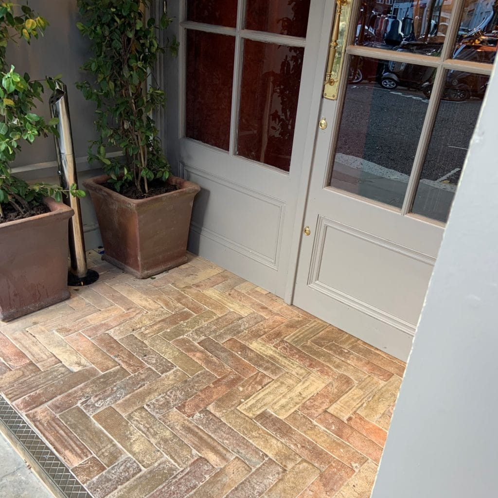 terracotta porch tiles
