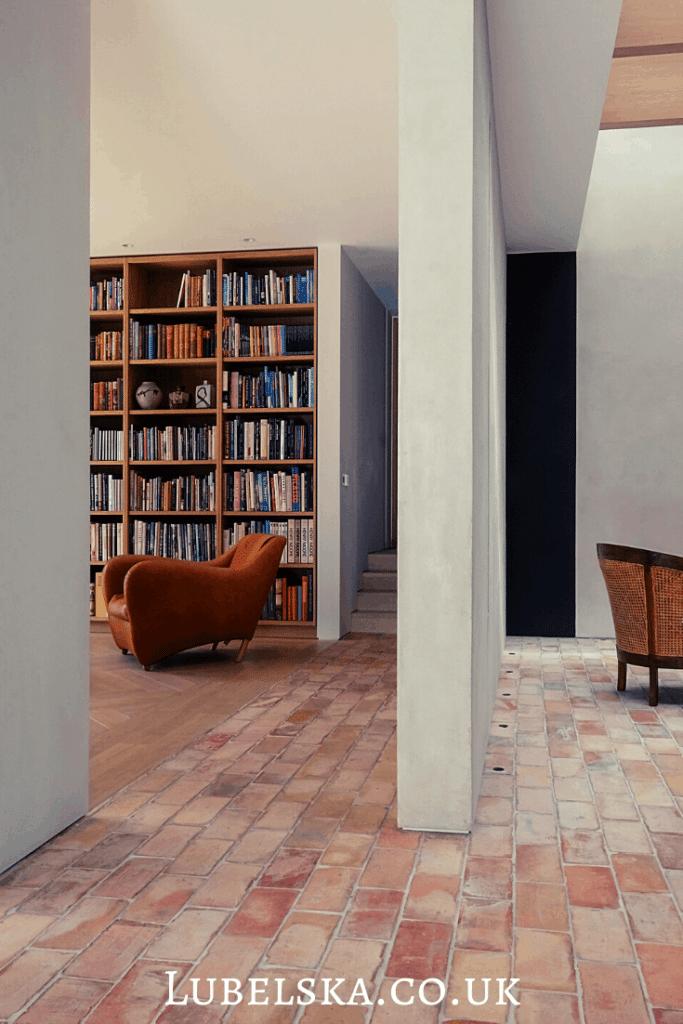 devon Passivhaus brick flooring