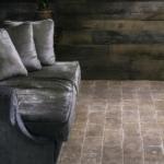 Reclaimed light terracotta tiles