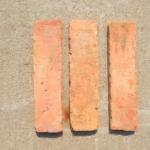 Reclaimed brick tiles