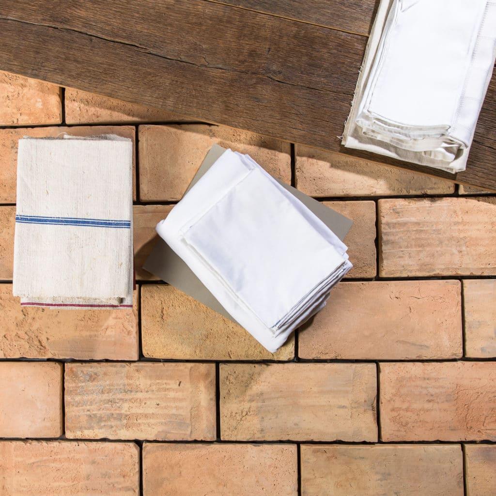 Large Pale Reclaimed Terracotta Tile