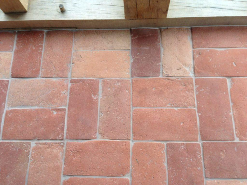 Reclaimed Terracotta Tile - utility room