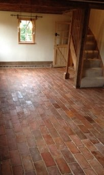 Satin finish Brick Tile