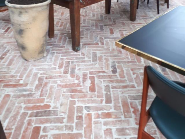 Thing brick floor tile
